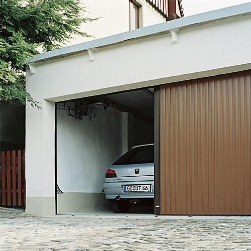 De Garagedeur Expert De Zijwaarts Openende Alulux Vertico